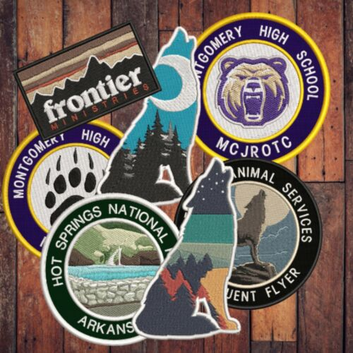 I BELIEVE Sasquatch Sasquatch in the Forest Iron on Bigfoot Lives Patch