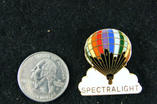HOT AIR BALLOON LAPEL PIN SPECTRALIGHT