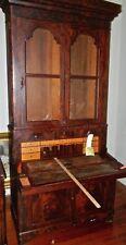 Antique  Mahogany   Secretary   Federal Style 1800s  (Cat.#  55)