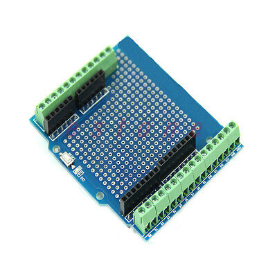 For Arduino Compatible Board New 1pc Standard Proto Screw Shield Board