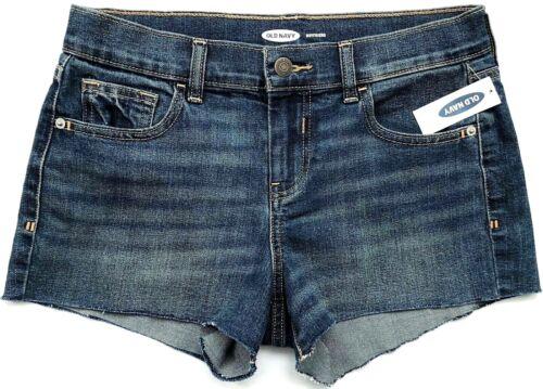 """3/"""" Inches Inseam Shorts Sz.0-16 Boyfriend Denim OLD NAVY Women/'s Cut-Off Hem 2/"""""""