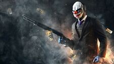 POSTER PAYDAY 2 THE HEIST PAY DAY DALLAS HOXTON CHAINS WOLF PS3 XBOX 360 GAME #6