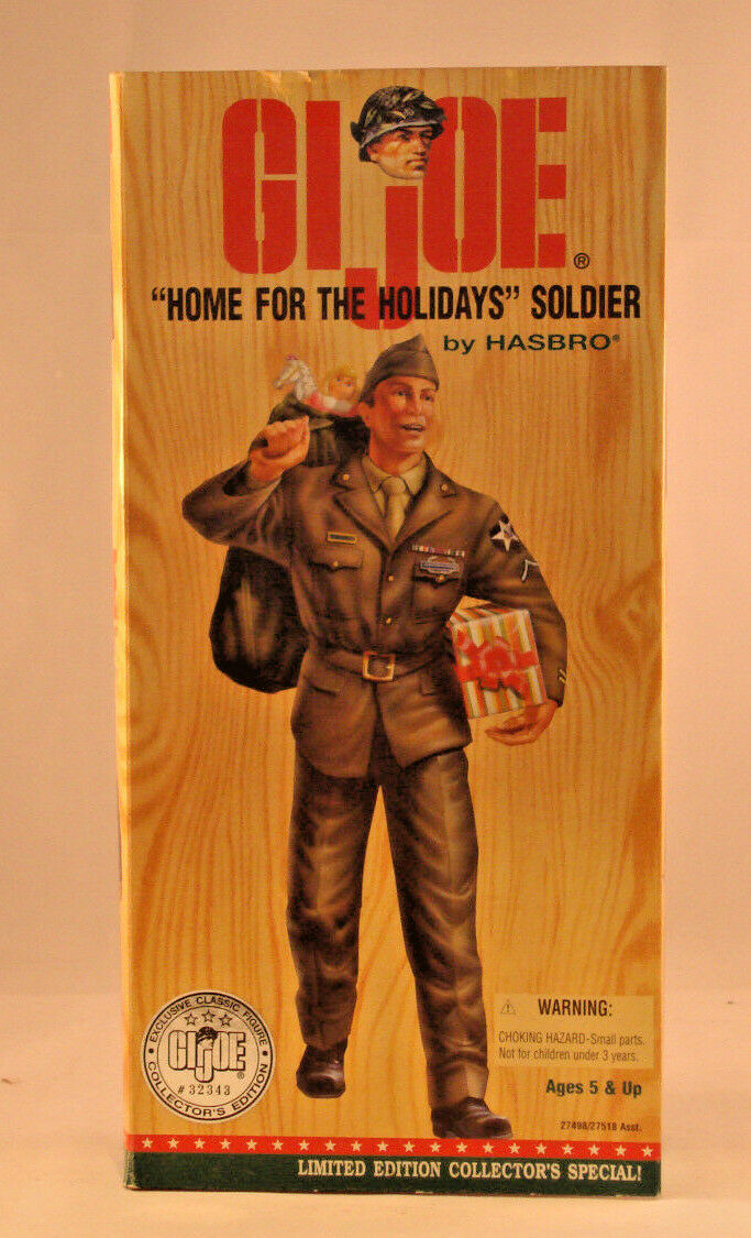 GI Joe  Home for the Holidays  Soldier New in Box
