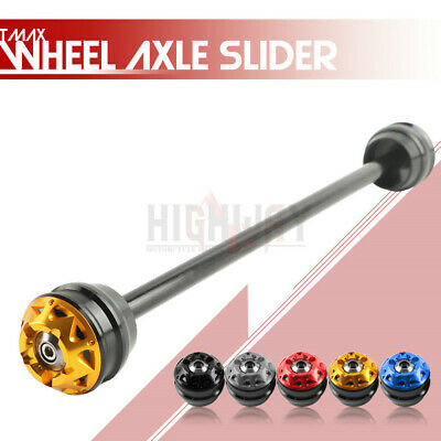 Motorcycle Front Axle Frame Sliders Wheel Protector For Yamaha Tmax 530 12-2015