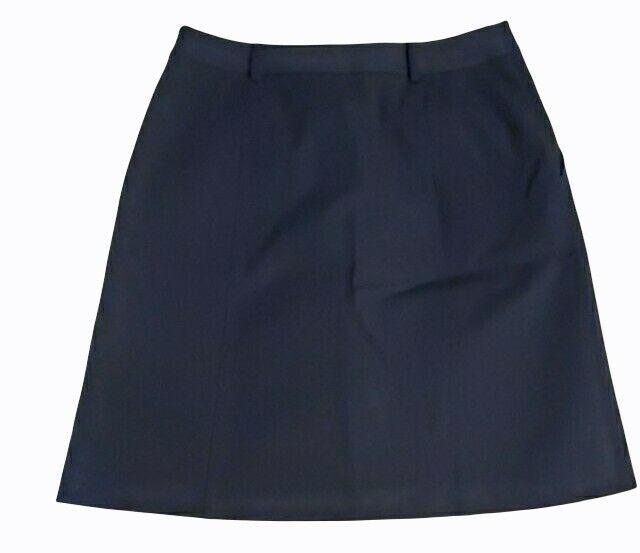 J McLaughlin Teal Button Front A Line Skirt Size 2 - image 5