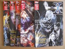 X-FILES SPECIALE - Serie Completa 0-4 - Topps Magic Press 1997  [G485]