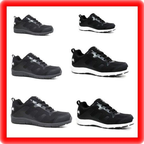 Cap Ultra Lightweight Girls Shoes Trainer Safety Toe Ladies Steel Womens 4xF7a7