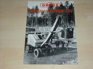 43901 Prospekt 08/195 Technische Daten Gross Universal Autobagger Ub4