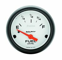 Autometer Phantom Electric Universal Gm Chevy Fuel Level Gauge 2-1/16 (52mm)