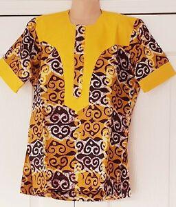 Ragazzi Fashion Ankara stampa Africana cera Dashiki ragazzi vestiti abiti da 6 a 12 anni  </span>