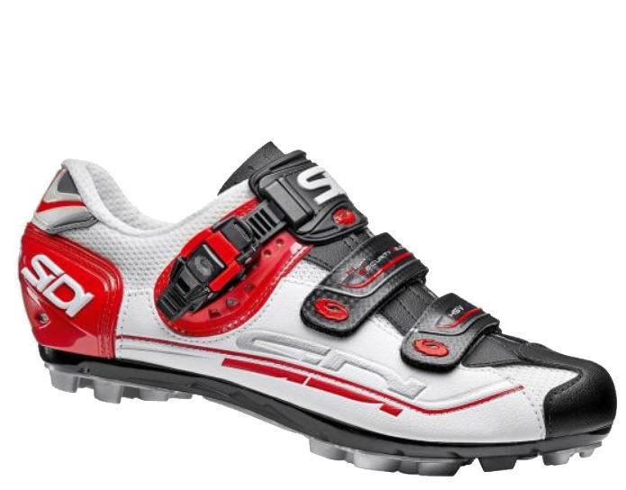 shoes Ciclismo MTB - Sidi Eagle 7 - Misura 42 - Bianco black red