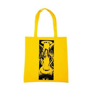 Genuine WKND Test Tube Recycled Tote Bag - Yellow (Extra Large)