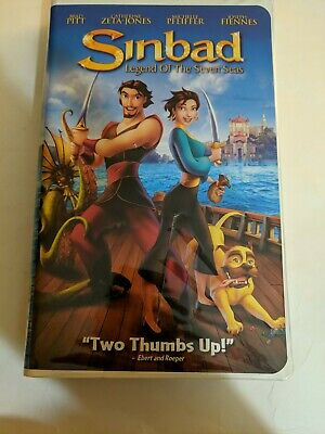 SINBAD Legend of the Seven Seas VHS Video Tape Animated ...