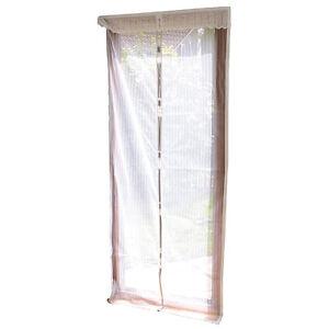 fliegenvorhang selbstschlie endes premium fliegennetz f r t ren wei ebay. Black Bedroom Furniture Sets. Home Design Ideas