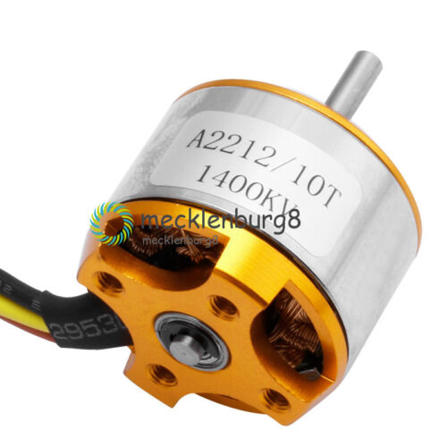 A2212 1400KV Outrunner Motor Brushless Airplane Aircraft Quadcopter Helicopter