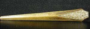 Coppa Carta Art Deco 1930 Firmato A Sadoux Letter Apribottiglie 19,5 CM Bronzo