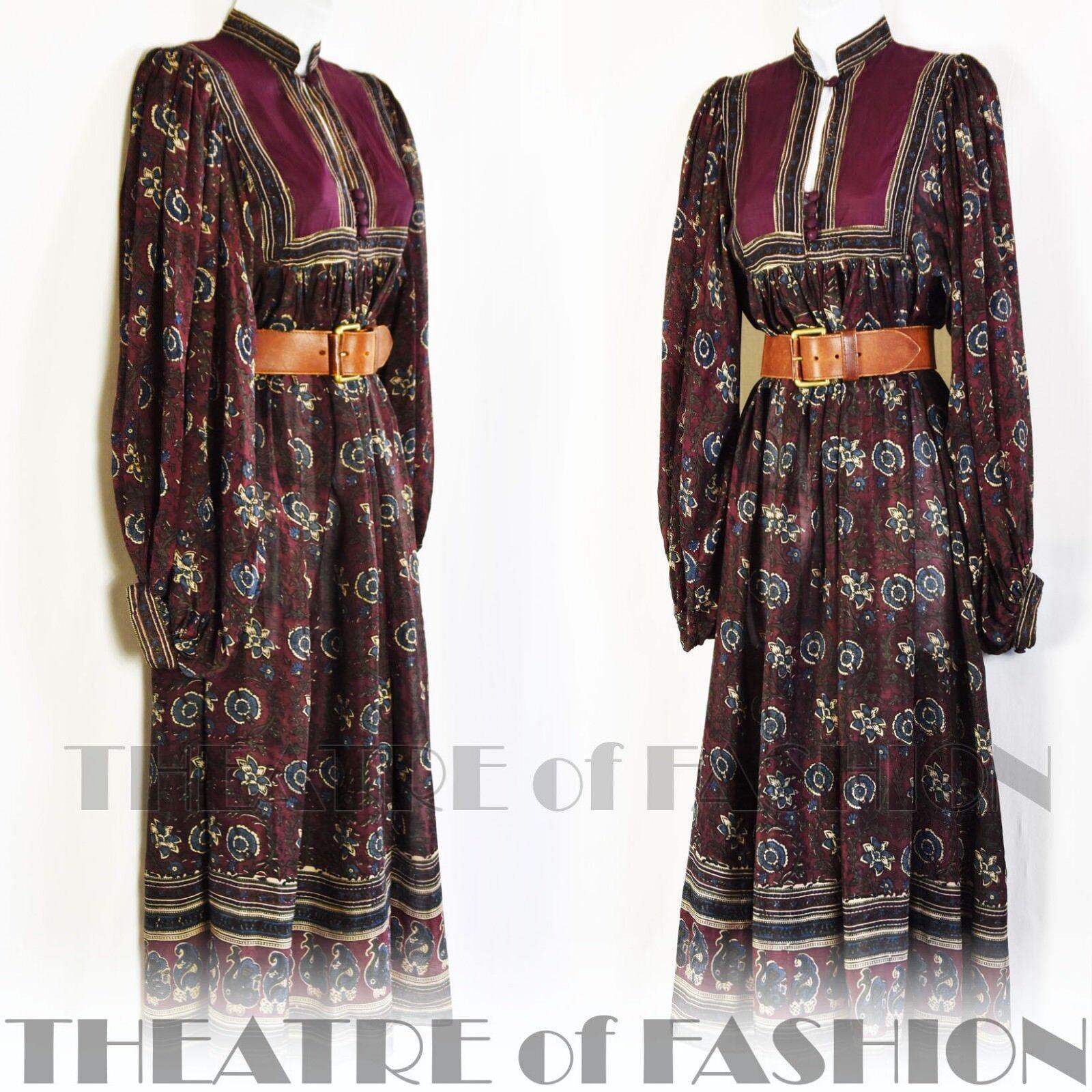 DRESS DRESS DRESS PHOOL INDIAN SILK VINTAGE BOHO WEDDING HIPPY-LUXE VAMP GODDESS FOLK BEAUTY 11135f