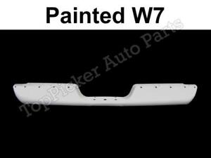 Painted White Rear Step Bumper Bar Pad Out Bracket For 94-01 Ram 1500 2500 3500