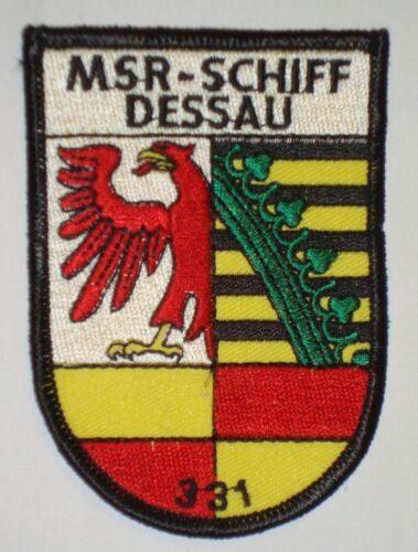 "NVA Volksmarine Aufnäher Patch MSR-Schiff /""Dessau/"" 331 ........A3682"