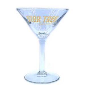 Star-Trek-Rare-Original-Series-Vintage-Cocktail-Glass-Collectible-c-1999