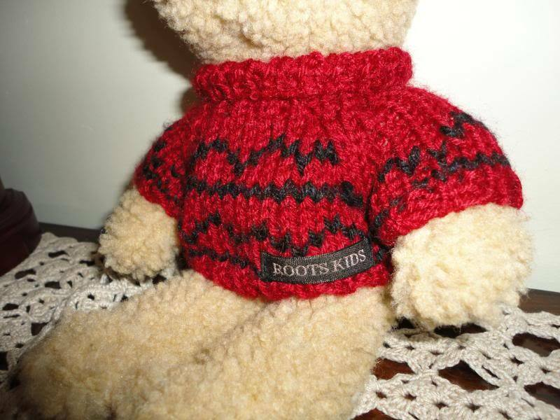 Roots bambini Authentic Marroneee Wooly Wooly Wooly orso a51a19