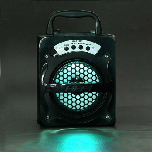 Outdoor Wireless Portable Bluetooth Speaker Super Bass with USB//TF//AUX//FM Radio