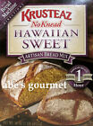 Krusteaz  Hawaiian Sweet Bread Artisan Bread Mix (Pack of 2) 16 oz Boxes