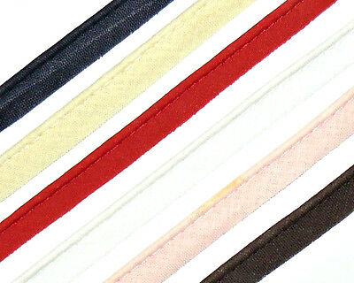 FREE P/&P 15MM BIAS BINDING FLANGED INSERTION PIPING ART 1279 VARIOUS COLOURS