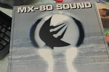 MX-80 SOUND OUT OF THE TUNNEL RALPH USA FIRST  EDITION LP  residents yello