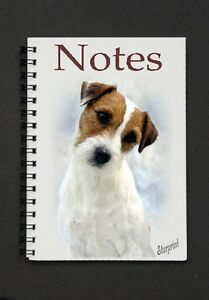 Parson-Jack-Russell-Terrier-Notebook-Notepad-No-2-by-Starprint