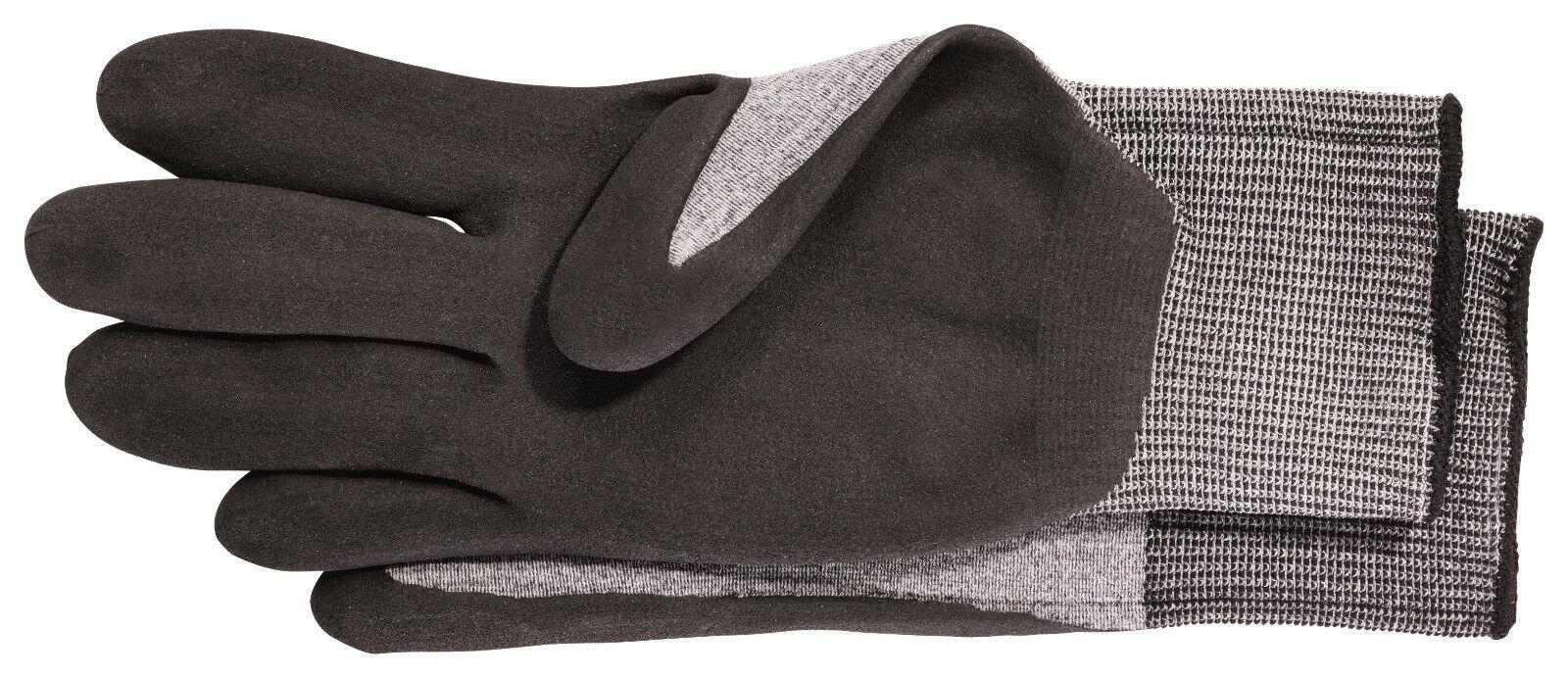 12x Storch 510610 Montage-Handschuhe, Nitril-Mikroschaum Größe XL 10
