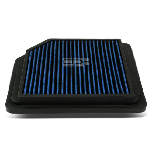 Fit 06-11 Honda Civic 1.8L Blue Reusable//Washable Drop In Air Filter Panel