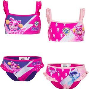 Paw Patrol Bikini Bademode Gr.98-116 Schwimmen Mädchen Wäsche Baden Sommer