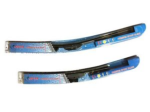 20 & 24 inch Premium Quality WIPER BLADES SUMMER WINTER BRACKETLESS WINDSHIELD