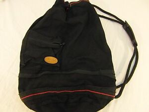 Omega-Sports-Black-Red-Cotton-Canvas-One-Strap-Gym-School-Backpack