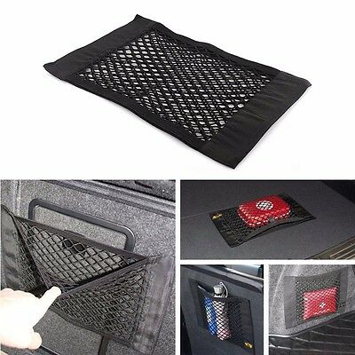 Nylon Tape Easy Car Rear Cargo Truck Pocket Storage Organizer net Seat Rear Bag