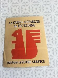 Autocollant-La-Caisse-d-039-Epargne-de-Tourcoing