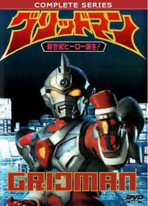 DENKOU-Choujin-Gridman-Hyper-Agent-1993-Serie-Completa-leer-detalles-a-continuacion