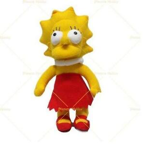 THE SIMPSON - Lisa peluche misura 3 (35x15x15) ALTA QUALITA'