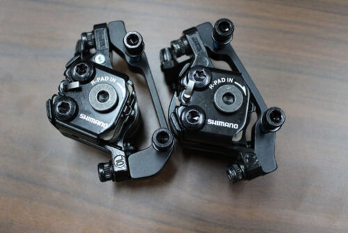 Shimano Tourney TX805 Disc Brake Caliper w// Pads Front Rear Upgrade of BR-M375