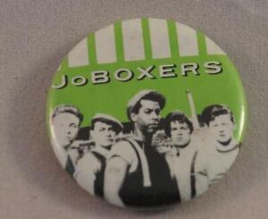 Vintage JoBoxers Pin Pinback Button