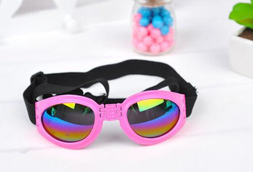 1 pair SMALL PET DOG Goggles Doggles  SUNGLASSES UV Eye Protection ATFUBILS