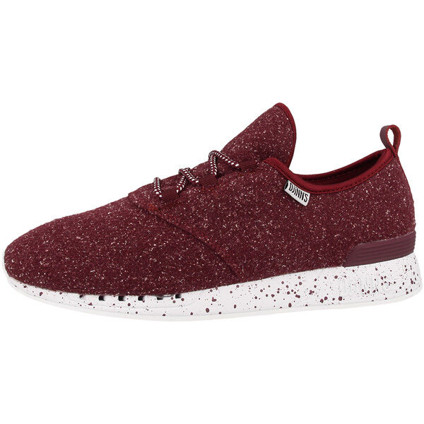 Djinn's Moc Lau Spots shoes Sports Casual Trainers Wine Djinns Forlow Lowlau