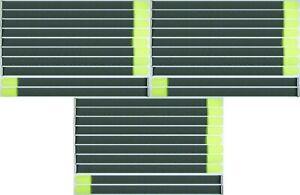 Franc 30 X Velcro Serre-câbles Fk 80 Cm X 50 Mm Fluo Jaune Velcro Bandes Kabelklettband-afficher Le Titre D'origine