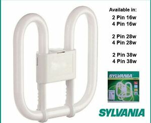 Sylvania Energy Saver Lynx L 24W CF-L24W//835 White 320mm Light Bulb #32L86