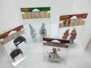 Lemax Christmas Village Family Shopping Figurine New! #22022 #32731 Snowman More