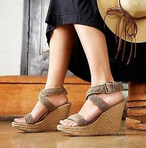 Lady-High-Platform-Wedges-Heels-Vogue-Sandals-Roman-Strappy-Womens-Casual-Shoes