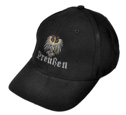 Basecap Mütze Preußen Friedrich der Große Kaiser Wilhelm  Preußen Adler gestickt