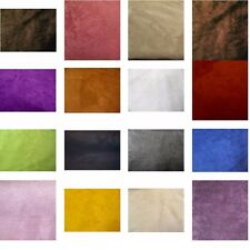 40 COLORS UPHOLSTERY MICRO SUEDE BACKDROP DRAPERY HEADLINER FABRIC $12.99/YARD