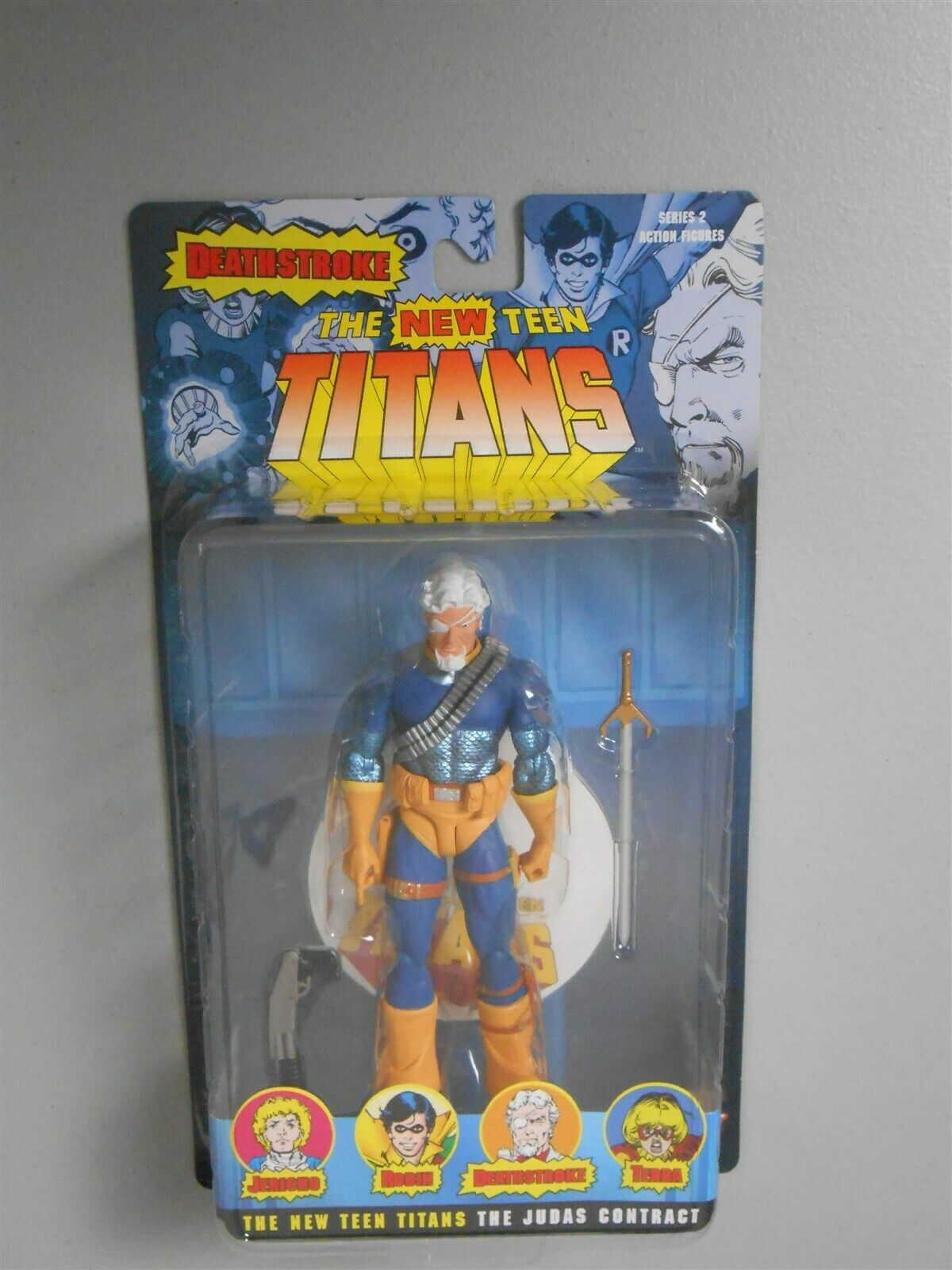 New Teen Titans unMasked DEATHSTROKE 6in Action Figure DC Direct Toys